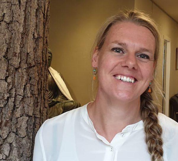 acupuncturist Janneke Vogelzang