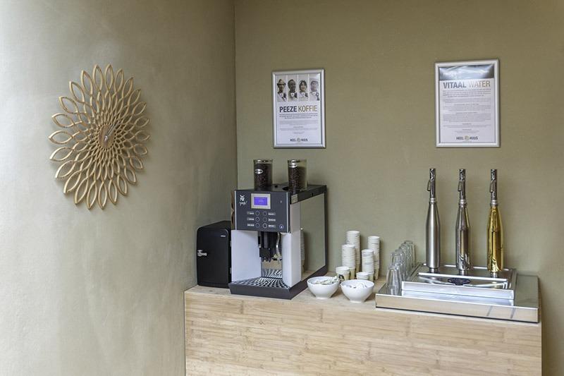 Peeze koffie en thee hoek HeelHuus Gezondheidscentrum Warnsveld Zutphen